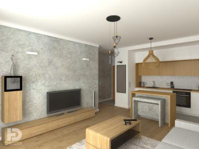 VILLA NOBILE - Mieszkanie 48m2
